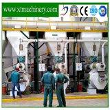 Нескольких сырьевых материалов, двигатель Siemens биомассы Пелле Granulation линии