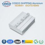 Aluminiumstrangpresßling-Profil für Kühlkörper mit der Anodisierung u. DER CNC maschinellen Bearbeitung