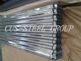 La tuile de toit de métal galvanisé ondulé/Afrique vendre Gi de tôle en acier à chaud