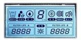 Punktematrix LCD-Bildschirmanzeige-niedrigere Energie 20X2