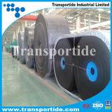 Bande de conveyeur en caoutchouc de polyester de PE avec la bonne qualité