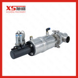 Válvulas de posição pneumática de saneamento de aço inoxidável