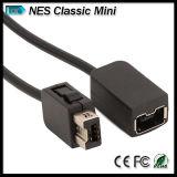 Выдвинутый кабель для регулятора Gamepad Nunchuk игры Nintendo Nes классицистического миниого Wii u