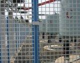 358金網の塀