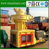 Lubrificação automática, fácil operar moinho de péletes serradura de madeira