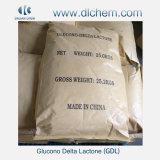 DeltaLactone van Glucono van de Rang van het Voedsel van de hoge Zuiverheid (GDL) met Beste Prijs
