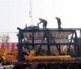 Yhzs35 Containeredの携帯用具体的なプラントによって使用される移動式具体的な区分のプラント