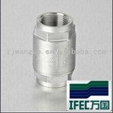 Valvola di ritenuta sanitaria del filetto dell'acciaio inossidabile (IDEC-CV100002)
