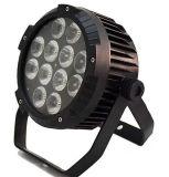ディスコの照明DMXはLEDの洗浄同価ライト12X10W RGBWを細くする