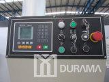 Máquina Durama CNC cizalla hidráulica con ángulo de corte ajustable para el acero dulce