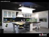 2015 Welbom Euro laca blanca Diseño Armario de Cocina