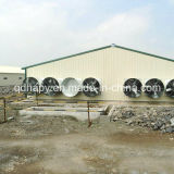 Broiler와 Breeder를 위한 Poultry Equipment를 가진 Prefabricated Poultry House