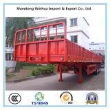 製造業者からの3つの車軸が付いている貨物トレーラー/半側面のトラックのトレーラー