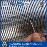 Cuña de acero inoxidable 304 de la pantalla Cable/ Alambre de la cuña de pantalla para la perforación de pozos/ pantalla Cable cuña
