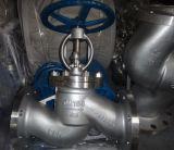 Valvola di globo manuale dell'acciaio inossidabile di GB con l'estremità della flangia (J41H)