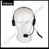 Cuffia avricolare militare di conduzione di osso per il walkie-talkie di Hytera X1p