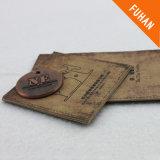 의복을%s 고대 인쇄된 걸림새 꼬리표