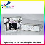 Cuadro de esmalte de uñas envases cosméticos