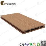 Decking ao ar livre de madeira vermelho Grooved do fornecedor WPC de China