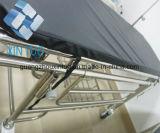 Steigen-und-Fallen der Krankenwagen-Bahre-Stuhl, der medizinische Laufkatze-Bahre-Laufkatze-Karre faltet