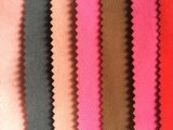 Tissu de troupeau simple avec stock utilisé pour boite de bijoux / canapé / rideau (JP)