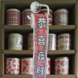 Os Wipes gordos do toalete de Kung Hei Choi imprimiram o papel higiénico