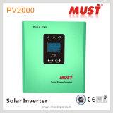 500va-2000va van uitstekende kwaliteit van Grid Hybrid Solar Inverter met PWM Solar Controler Build Inside