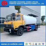 Dongfeng 10000L 시스템, LPG 수송 트럭을 다시 채우기를 가진 작은 LPG 가스 탱크 트럭