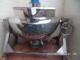Calefacción eléctrica industrial forrados de alimentos cocinar hervidor de agua con el agitador (ACE-JCG-063004)