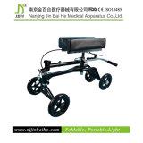 Caminhante dobrável do joelho com assento ajustável