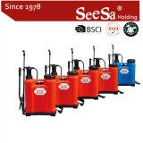 Seesa Shixia 16Lのプラスチック卸し売りナップザックまたはバックパック手動手圧力農業ポンプスプレーヤー
