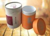 El cilindro encajona la venta al por mayor de papel de empaquetado del rectángulo de regalo de la cartulina redonda del OEM