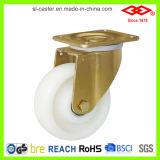 Weiße Nylonhochleistungsfußrollen (P160-20F125X50)