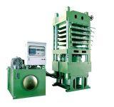 거품이 이는 기계 가황 압박 가황기 유압 기계