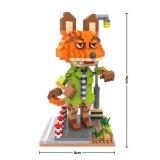 Le modèle animal de Zootopia Nick de série bloque le jouet