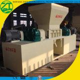 Desfibradora biaxial/doble del eje para los neumáticos inútiles/la basura de madera/sólida/la basura de vida