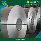 Le feuillard, colorent la bobine en aluminium plongée chaude de perfection en acier enduite de bobine, bobine en acier galvanisée enduite par zinc