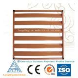 Perfil de alumínio personalizada de fábrica para a janela do obturador da porta do obturador