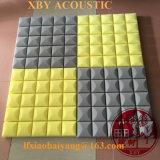 Fehlerfreie Absorptions-akustischer Schaumgummi-Panel-dekorative Wand-Name-Wand-Umhüllung-Dekoration-Decken-Vorstand-Wand