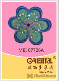 Il Fashion Chinoiserie Embroidery Patch con The Flower Pattern