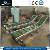 Transportador de cinto de nylon para alimentos industriais