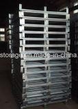 Pallet d'acciaio affrontato personalizzato del metallo galvanizzato memoria del magazzino doppio