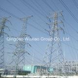 Torre elétrica do aço do ângulo da distribuição de potência