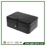 Коробка хранения шикарного прямоугольника высокого качества пурпуровая деревянная