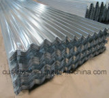 Mattonelle di tetto galvanizzate tuffate calde principali di Corrguated delle lamiere di acciaio