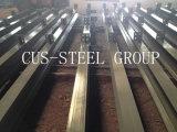 Structure en acier Carport Plant / Toiture structurée Steel Workshop