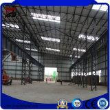 Struttura d'acciaio prefabbricata dell'ampia luce per la costruzione del workshop
