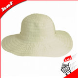 Chapéu flexível da mulher do chapéu da tela