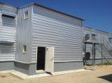 Granero galvanizado casa prefabricada del marco de acero para el crecimiento del pollo