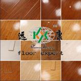 Hoher lamellenförmig angeordneter Bodenbelag der Glanz-Oberflächen-Qualitäts-HDF